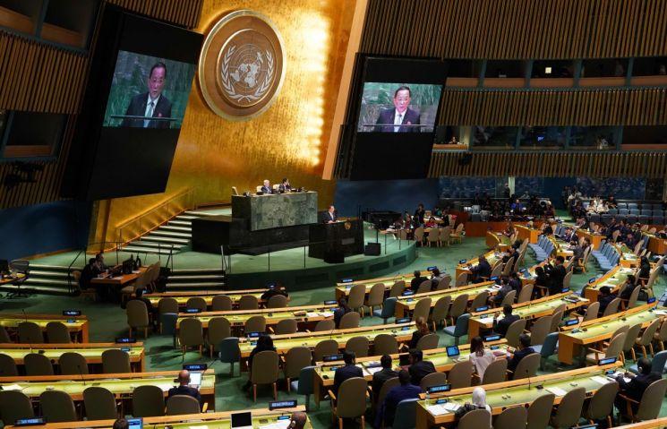 유엔 총회. 2018.09.30 [이미지출처=연합뉴스]