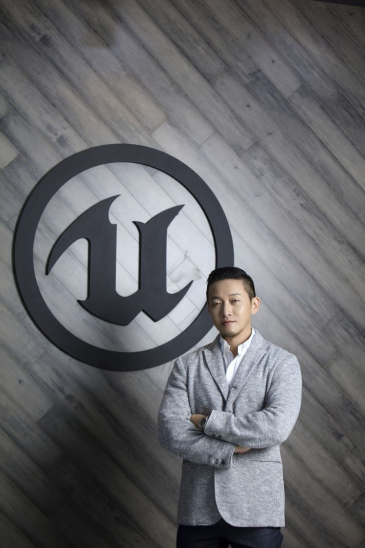 Park Sung-chul, Representative of the Korean Epic Games