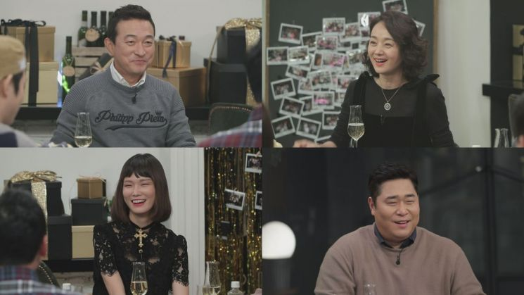 tvN 'NEW 인생술집'에는 100회를 맞아 찾아온 MC들의 특급 절친 이재룡, 배종옥, 송경아, 문세윤이 출연한다. / 사진=tvN 제공