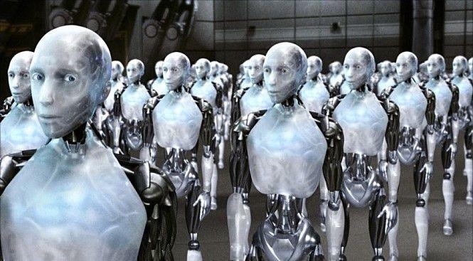 인공지능 발전과 기계화에 따라 고용효과가 크던 제조업 일자리가 지속적으로 감소하면서 소비 부진을 막고 사회보장제도의 사각지대를 줄이기 위한 기본소득제도 도입에 대한 목소리는 전 세계 정치권에서 주요 이슈로 떠오르고 있다.(사진=영화 '아이로봇' 장면 캡쳐)