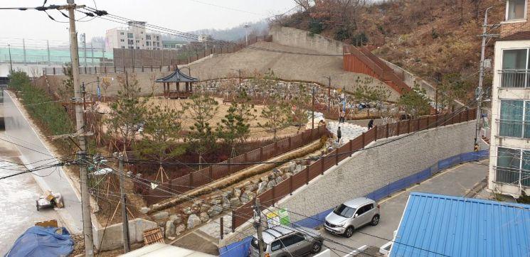 금천구 '박미사랑소공원' 조성