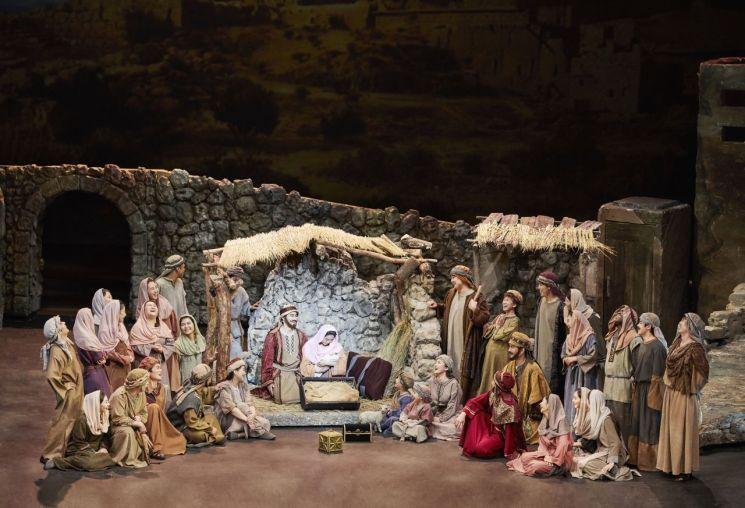 크리스마스 칸타타 1막 오페라 공연의 한 장면.  [사진= 그라시아스합창단 제공]