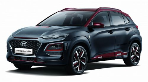 현대자동차는 11일 코나 아이어맨 에디션의 가격, 사양과 함께 오는 14일 처음으로 선보이는 디지털 영상을 공개했다. 코나 아이언맨 에디션은 23일부터 1700대 한정 판매를 시작한다.(사진=현대차 제공)