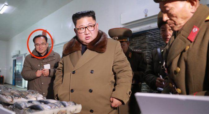 조용원 북한 노동당 조직지도부 부부장(빨간원)