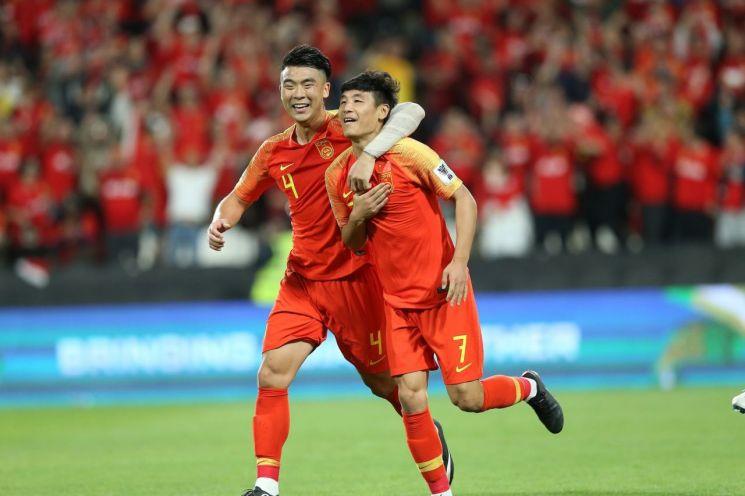 중국축구대표팀 [사진=AFC 공식 페이스북]
