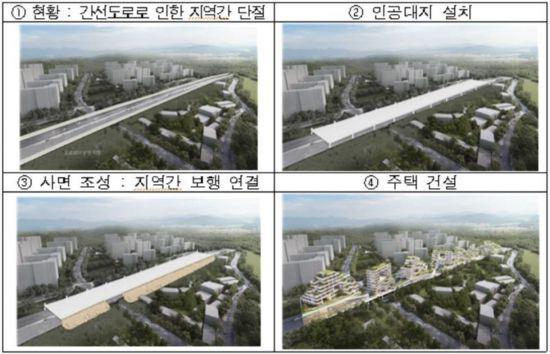 서울시 '찻길 위 임대주택' 속도… 환경영향평가 돌입
