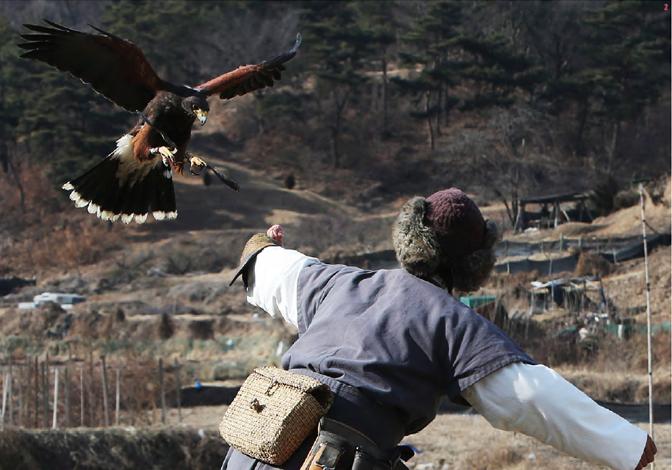 고려는 13세기 대몽항쟁 이후 몽골의 영향으로 매사냥이 유행하면서 매사냥으로 얻어진 꿩고기로 끓인 떡만두국이 크게 유행하게 됐다.(사진=한국문화재재단)