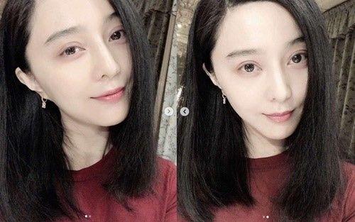 중국 배우 판빙빙이 9개월 만에 근황을 공개했다. 사진=판빙빙 SNS