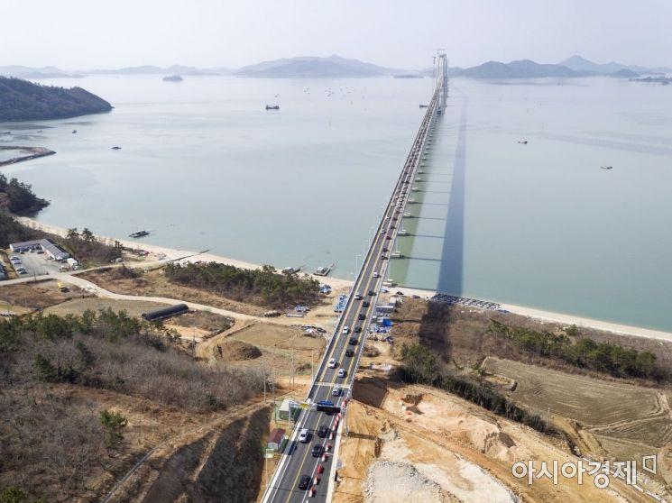 신안군, 30일 천사대교 개통 축하 마라톤 대회 개최