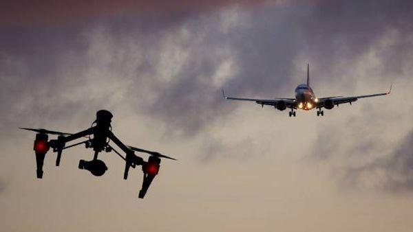 전문가들은 공중 비행 중인 조류보다 드론이 항공기에 더 큰 피해를 줄 수 있다고 지적한다. 사진 = dji