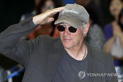 배우 리처드 기어. 자료사진. 출처=연합뉴스