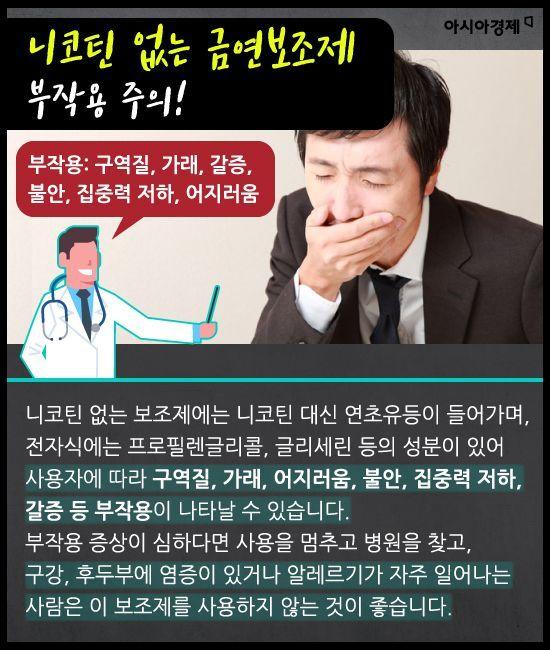 [카드뉴스]담배 끊으려다 한 번에 훅 갈 수 있다? - 아시아경제