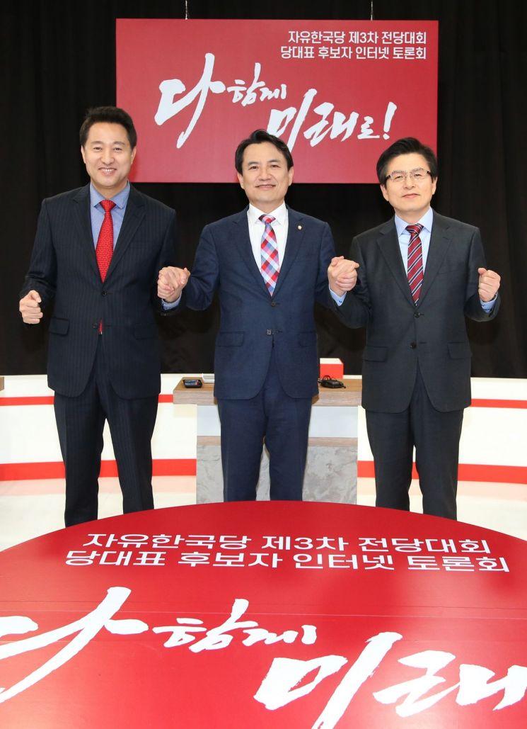黃·吳, 文정부 대북정책 비판…'전술핵' '3축체계'엔 이견 - 아시아경제