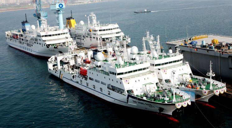 한진重, 국립대 실습선 4척 공동명명식 - 아시아경제