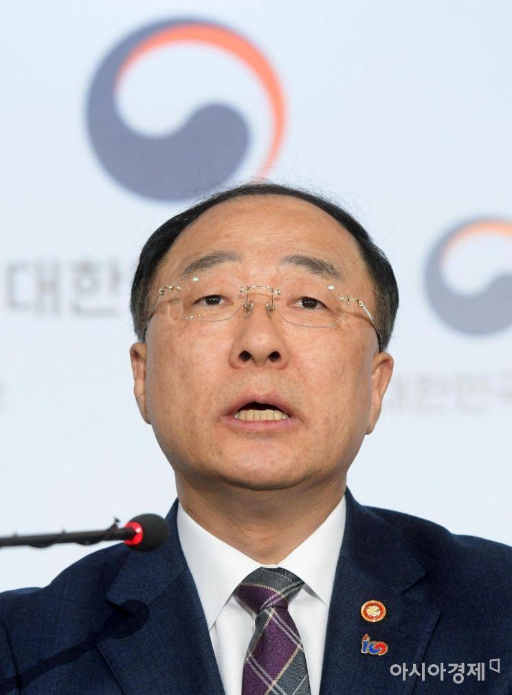'추경 제언 나올까'…홍남기, 국책연구기관장들과 간담회