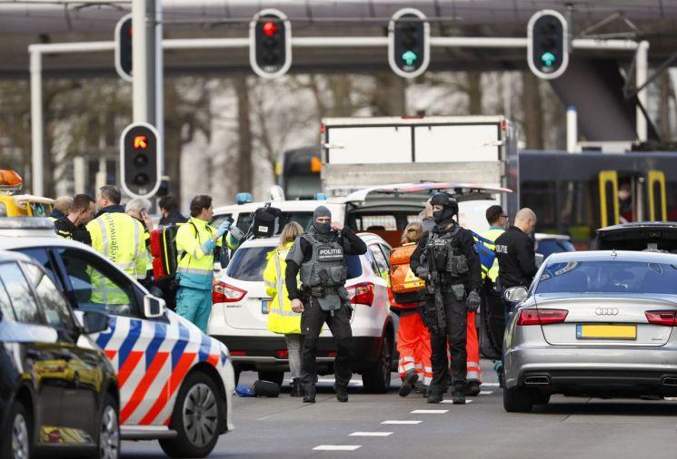 네덜란드에서 총격 사건으로 1명 사망…범인은 '도주중'