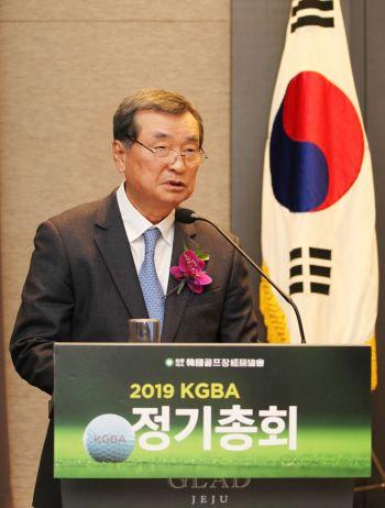 """박창렬 회장 """"골프장경영협회 수장으로~"""""""