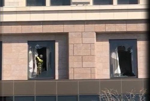 영종도 파라다이스호텔 사우나 화재…282명 대피