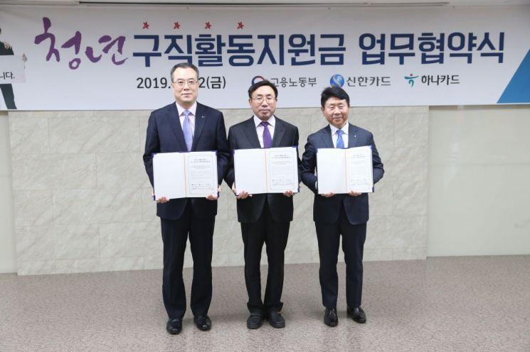 신한카드, 고용노동부 청년구직활동지원금 카드사업 참여