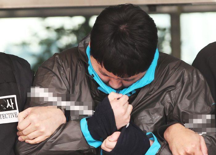 체포된 김다운 / 사진 = 연합뉴스
