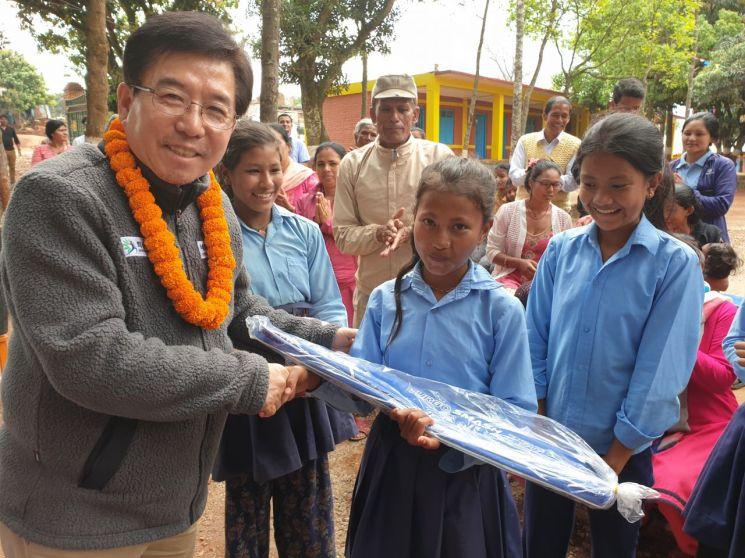 화순군체육회, 네팔 '쉬리 아자드 고등학교'와 자매결연