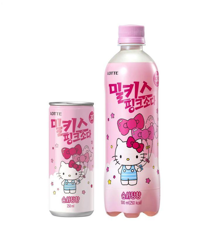 롯데칠성, '밀키스 핑크소다' 출시