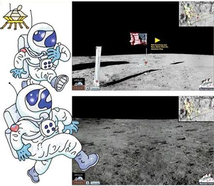 46년前 발사된 '아폴로11호'는 진짜 달에 갔을까