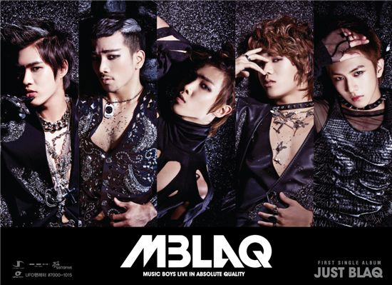 K-pop boy band MBLAQ [J. Tune Entertainment]