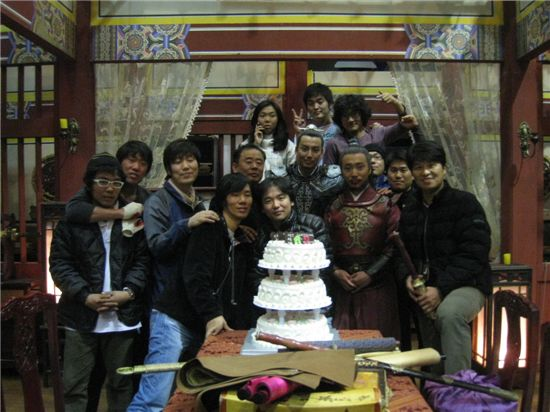 """The cast and crew of """"Queen Seon-deok"""" [MBC]"""