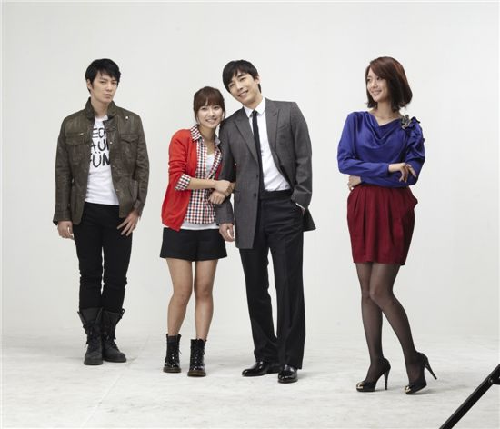 "The cast of KBS daily drama ""Good Day"" [KBS]"