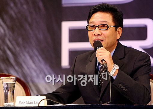Korean entertainment entrepreneur Lee Soo-man [Asia Economic Daily]