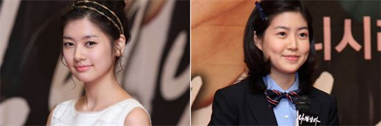 """Actresses Jung So-min (left) and Shim Eun-kyung in """"Bad Guy"""" [Good Story]"""