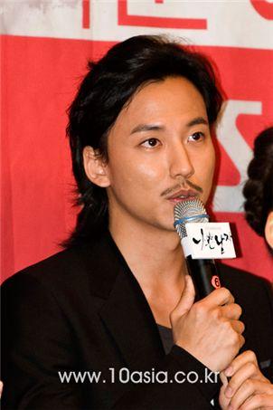"Korean actor Kim Nam-gil at the press conference for TV series ""Bad Boy"" [Lee Jin-hyuk/10Asia]"