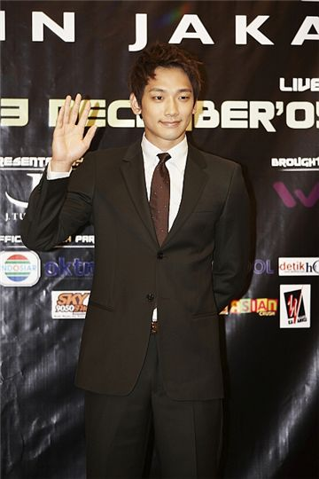 Multi talented entertainer rain has become the first korean celebrity