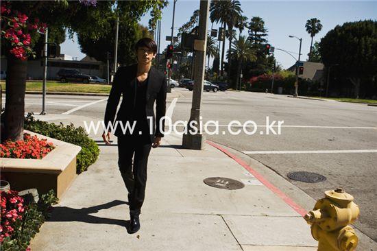 Korean entertainer Rain in Los Angeles [photographed by Chae Ki-won/10Asia]