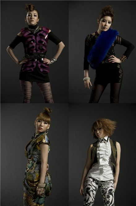 Korean female pop idols 2NE1 [YG Entertainment]