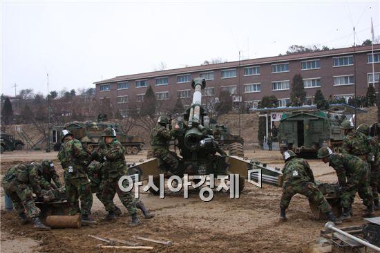 <h1>155mm견인포와 K-9자주포는</h1>