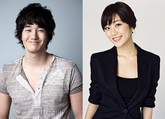 Yoo Ji-tae (left) and Kim Hyo-jin [GTB Entertainment/Namoo Actors]