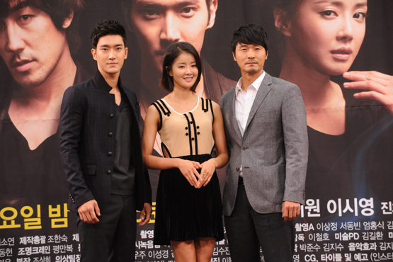 """Choi Siwon, Lee Si-young and Lee Sung-jae of KBS TV series """"Poseidon"""" [KBS]"""