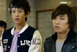 """Scene from MBN TV series """"What's Up"""" [MBN]"""