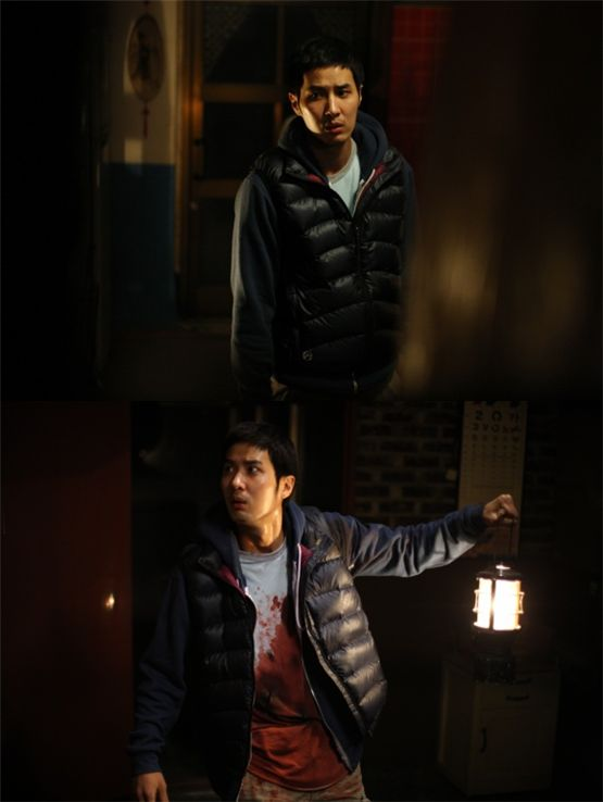 "Still shots of Kim Ji-seok in ""Two Moon"" [Lotte Entertainment]"