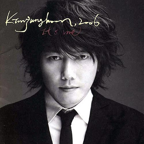 """Singer Kim Jang-hoon poses in the cover photo of his ninth full-length album """"It's me,"""" dropped on October 25, 2006. [Concert World]"""