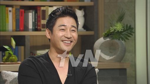 ▲tvN '백지연의 피플인사이드' 녹화에 참여한 전노민 (사진제공-tvN)