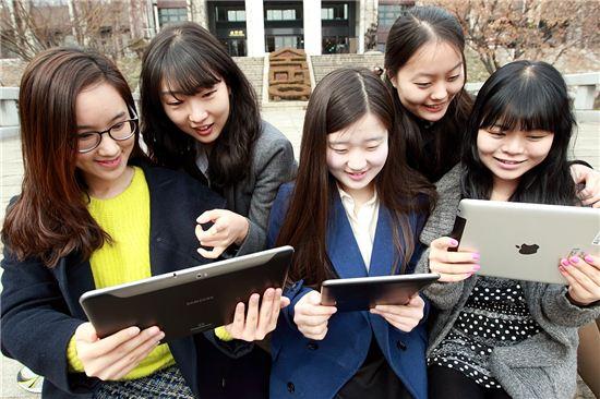 KT, 태블릿PC로 쌍방향 강의 '그린클래스' 구축