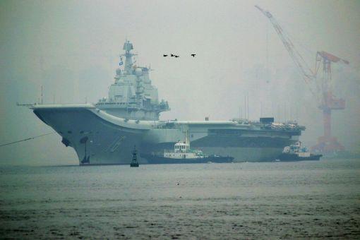 중국 최초의 항공모함 랴오닝함
