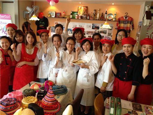 대전지역 결혼이주여성들로 이뤄진 다문화요리봉사단들