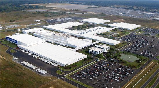 현대차 미국 앨라배마 공장 전경