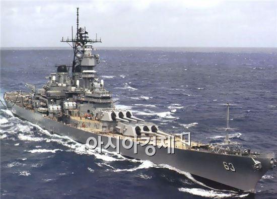 <h1>최첨단 해상무기<3>아이오와급 전함(Iowa Class Battle Ship)</h1>