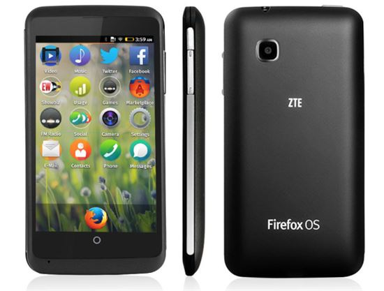 ZTE, 美시장서 파이어폭스OS 스마트폰 판매 시작…99달러