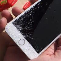 """아이폰6, 드롭 테스트 공개…""""커진만큼 액정도 잘깨져"""""""